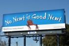 Billboard for the 2012 Republican primary in Florida