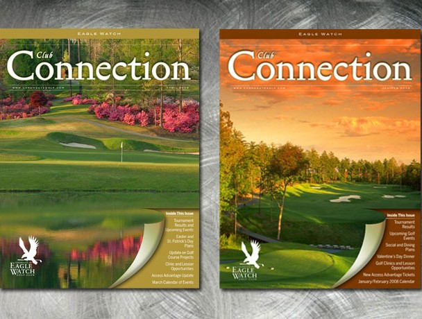 Newsletter series for Canongate, a network of golf communities