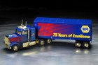 Graphics for a toy truck celebrating National Automotive Parts Association¹s anniversary