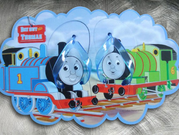 Design of thongs licensed by Thomas the Train
